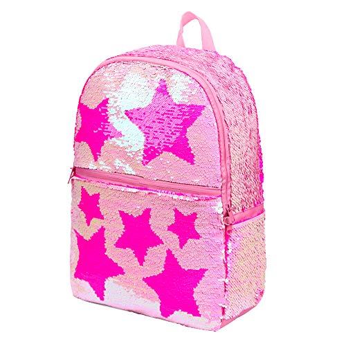 Le Vasty Sequin School Backpack