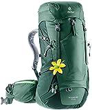 Deuter Futura Pro 34 SL - Zaino da trekking da donna, Donna, Zaino da escursionismo (fino a 45 L), 3401018, Verde (Seagreen-Forest)., 34 Lang