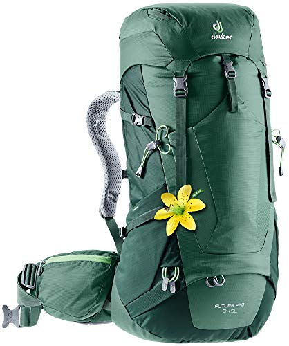 Deuter, Donna, Zaino da escursionismo (fino a 45 L), 3401018, Verde -, 34