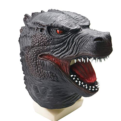 yxr Godzilla Vs. King Kong Movie Series Monster Godzilla Máscara de látex para Halloween