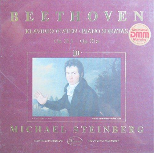 Beethoven: Klaviersonaten / Piano Sonatas Vol. III, Op. 31,1 - Op. 81a [Vinyl Schallplatte] [3 LP Box-Set]