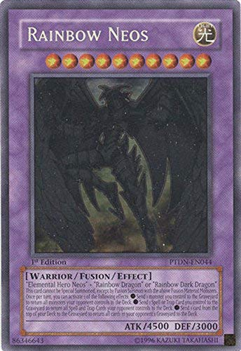 Yu-Gi-Oh! - Rainbow Neos (PTDN-EN044) - Phantom Darkness - Unlimited Edition - Ghost Rare by Yu-Gi-Oh!