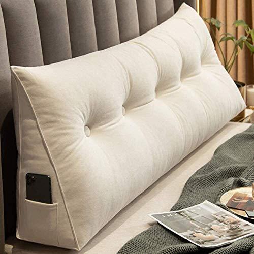 Cuscino del cuneo for il divano-letto Cuscino triangolare schienale triangolare cuneo Cuscino, Testata Bolster Cuscino di sostegno, Letto matrimoniale, Back Support cuscino lungo di lettura dello schi