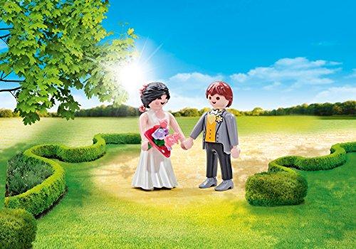 Playmobil 9820 - Couple de Mariés - Emballage Plastique, pas de boîte