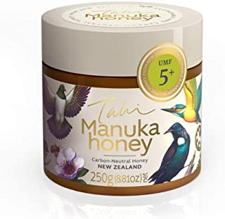 Manuka Honey UMF 5+ | Raw and Pure | Pesticide Free Honey 8.8 oz (250g) by Tahi