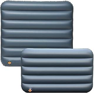 libelyef - Colchón Hinchable para Asiento Trasero de Coche, cojín para Cama de Aire, para Coche, Viajes, Camping, Color A, tamaño Inflator