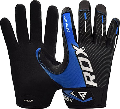 RDX Weight Lifting Gloves for Gym Workout - Breathable with Anti Slip Palm Protection - Great Grip for Fitness, Bodybuilding, Powerlifting, Weightlifting, Strength Training & Exercise