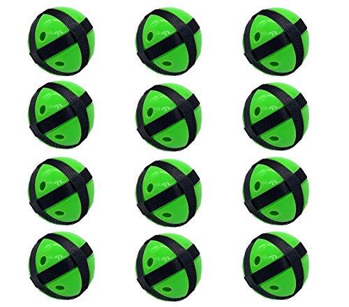 Silfrae Target Game Safety Fabric Dart Set 12 Balls (Green, Ball)