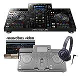 Pioneer DJ XDJ-RX2(ブラック) + アクセサリーセット [ダストカバー+ヘッドホン] [rekordbox dj]ラインセンス付属 一体型DJシステム パイオニア