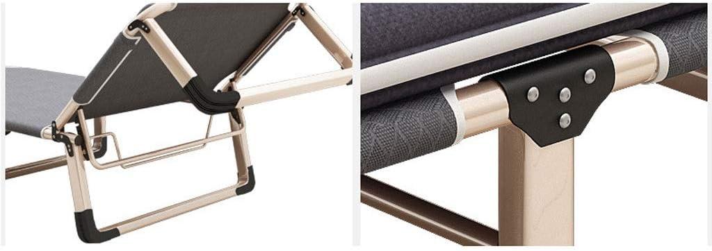 Chaise Pliante Fauteuil pliant Oxford en tissu Fauteuil inclinable simple pour déjeuner (Color : B) G