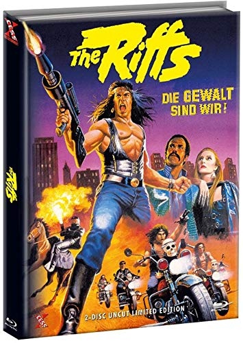 The Riffs 1 - Die Gewalt sind wir - Mediabook Cover B - Limited Edition (+ DVD) [Blu-ray]