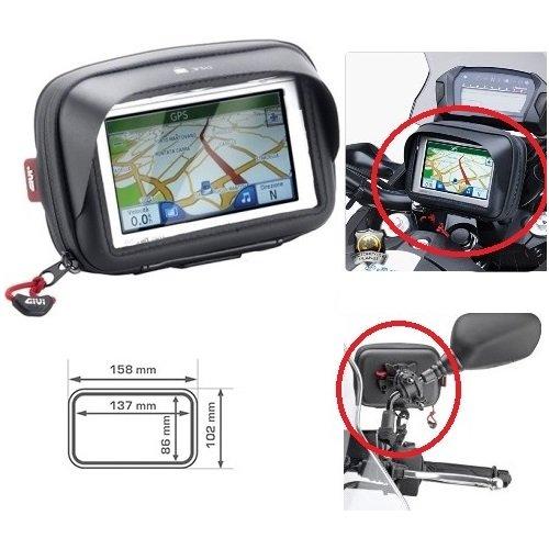 Garmin Nüvi 55 - Soporte GPS para teléfono móvil S954B Givi Touch Universal para Manillar o Espejo