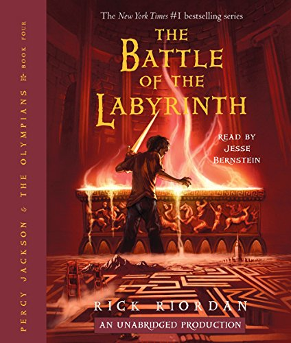 The Battle of the Labyrinth: Percy Jackson, Book 4 audiobook cover art