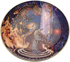 Franklin Mint Royal Doulton The Dragon Master Myles Pinkney Plate - CP1447