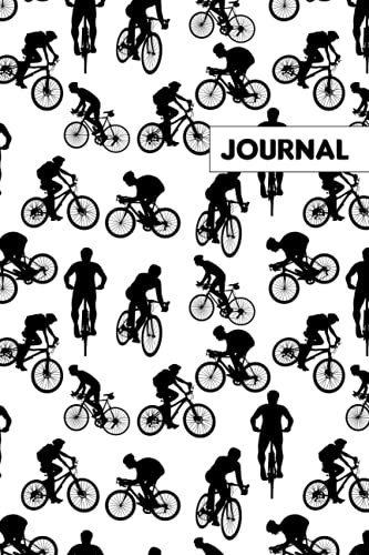Mountain Bike Journal Notebook: Mountain Bike Lovers Blank Lined Journal Notebook for Men, Women, Girls, and Kids