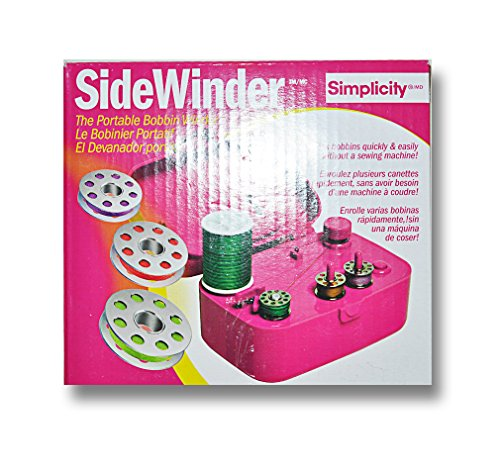 Simplicity Side Winder The Portable Bobbin Winder Fuchsia