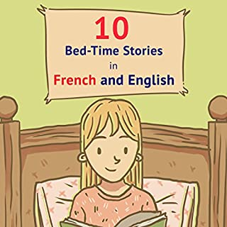 『10 Bed-Time Stories in French and English』のカバーアート