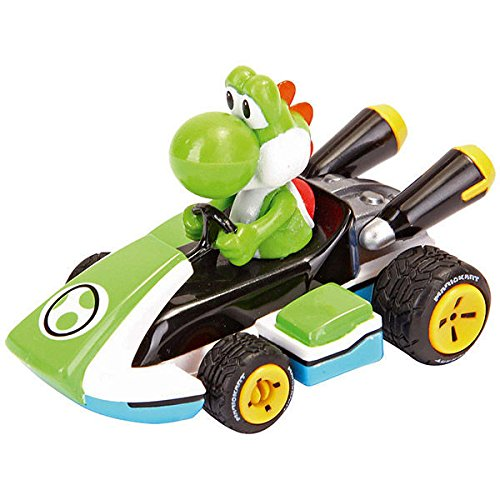 Caja Coche Pull Speed Mario Kart 8 Nintendo Yoshi