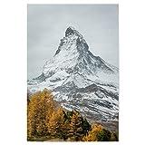 artboxONE Poster 120x80 cm Berge Natur Matterhorn von