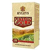 Hyleys Ceylon Gold Premium Black Tea - 25 Tea Bags (Gmo Free, Gluten Free, Dairy Free, Sugar Free And 100% Natural)