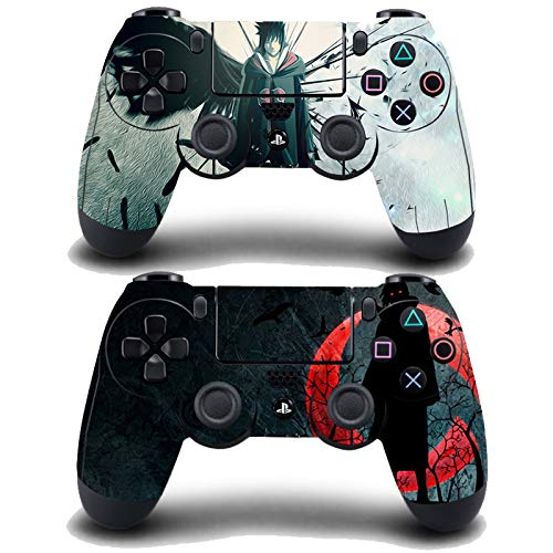 Decal Moments 2 Pack Regular PS4 Controllers Skins Decals Stickers Covers Vinyl Anime Uchiha