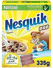 Nestle Nesquik Duo Breakfast Cereal, 335g