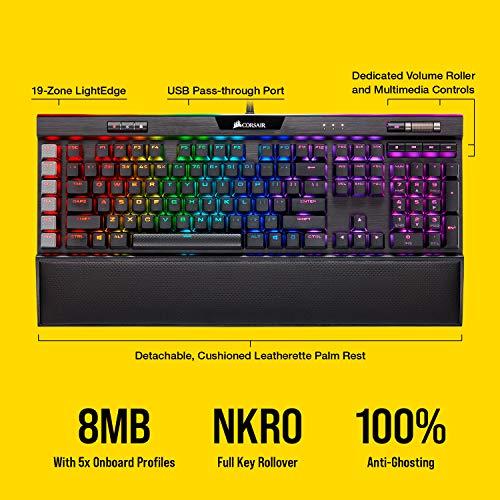 Corsair K95 RGB PLATINUM XT Wired Gaming Keyboard