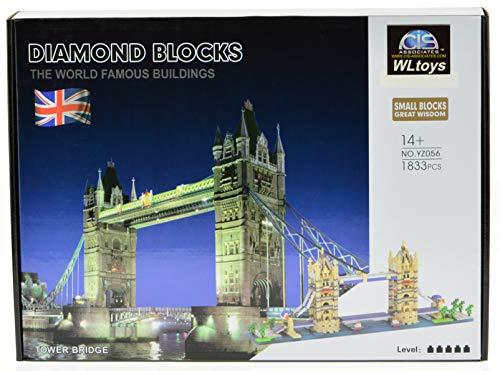 ICS Tower Bridge Micro Block Set with 1833 Bricks (CIS-YZ056)