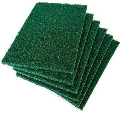 Domum Scrub Sponge Cleaning Pads Aqua Green.(10-PCS)