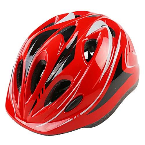 ACMEDE Casco da Bicicletta Bambini Regolabile 49-59cm,Casco Skate -Casco Unisex Bambini
