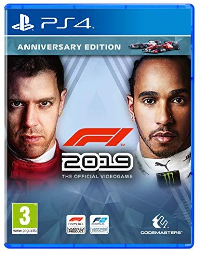 F1 2019 - Anniversary Edition (PS4) (Deutsch, Englisch, Französisch, Italienisch, Spanisch)
