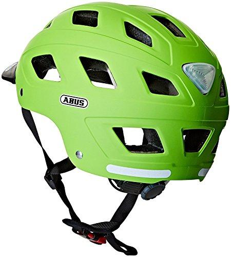 Abus Erwachsene Fahrradhelm Hyban, Green, 52-58 cm - 4