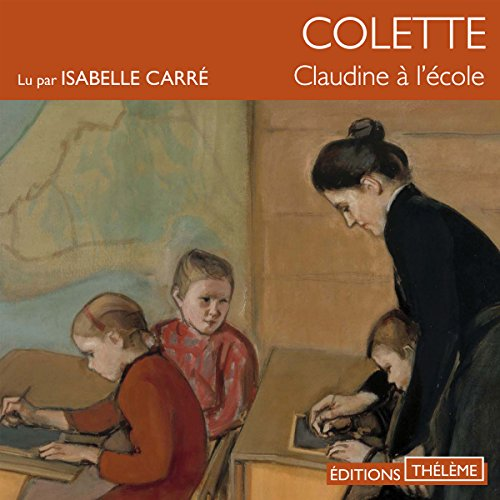 Claudine à l'école audiobook cover art