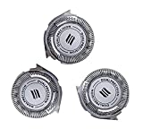 Brand New HQ8 Replacement Heads 3x Compatible with Phillips Norelco Shavers and blades(2020 VERSION)