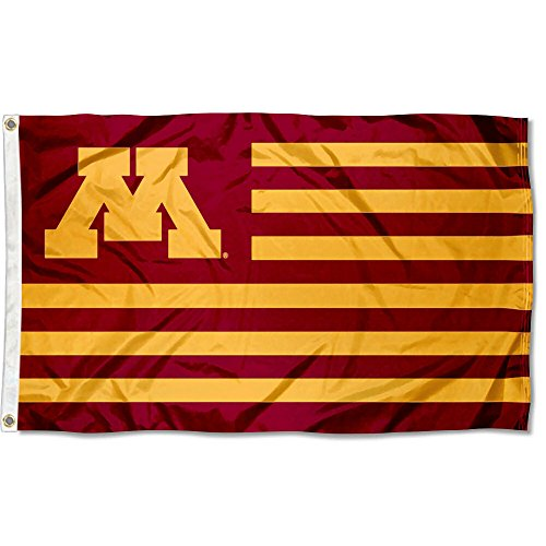 College Flags & Banners Co. Minnesota Gophers Stars and Stripes Nation Flag
