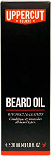 Uppercut Deluxe Conditioning Beard Oil, Patchouli & Leather Scent, 1 fl. oz.