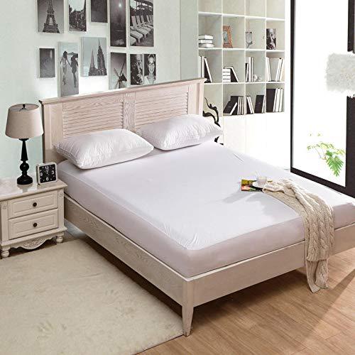 Cubierta de colchón Impermeable Lujo Terry Paño Colchón Protector Protector Polvo de Prueba Guangzhouweiyukejiyouxiangongsi (Color : 150 * 200+28cm)