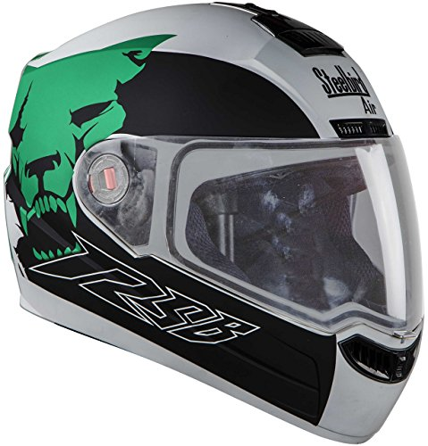 Steelbird Air Beast Full Face Helmet with Plain Visor