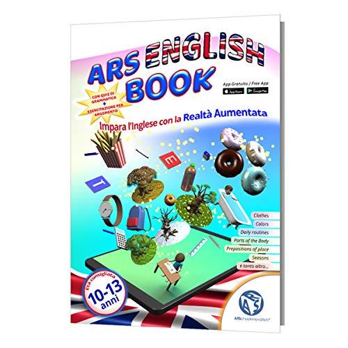 ARSchooInnovation Libro di Inglese in Realtà Aumentata - Libri per Bambini 10 Anni - Libri in Inglese per Bambini - Libri educativi per Bambini - Imparare l'inglese in Maniera Super Rapida