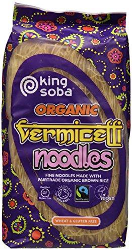 King Soba Noodles Vermicelli Riso Integrale - 250 gr