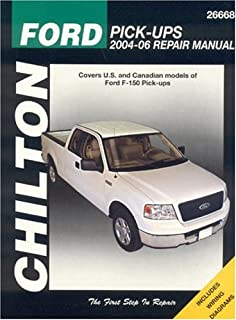 Ford F-150 Pick-Ups 2004-06 (Chilton Total Car Care Series Manuals)