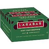 Larabar Gluten Free Bar, Mint Chip Brownie, 1.6 oz Bars (16 Count), Whole Food Gluten Free Bars, Dairy Free Snacks