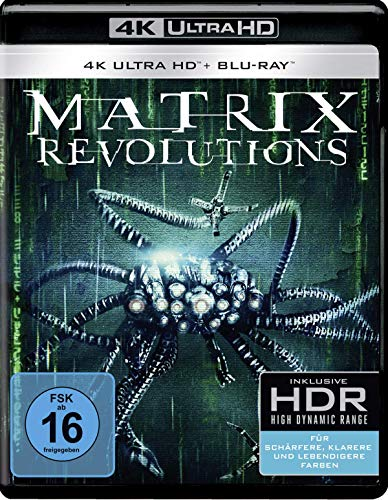 Matrix Revolutions [4K Ultra HD + Blu-ray]