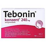 TEBONIN konzent 240 mg Filmtabletten 60 St Filmtabletten