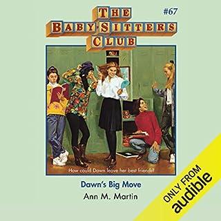 Dawn's Big Move audiobook cover art