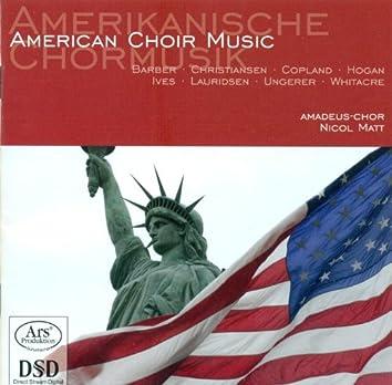 Choral Concert: Amadeus Choir - Barber, S. / Copland, A. / Whitacre, E. / Christiansen, P. / Lauridsen, M.J. / Ungerer, U. / Ives, C. / Hogan, M