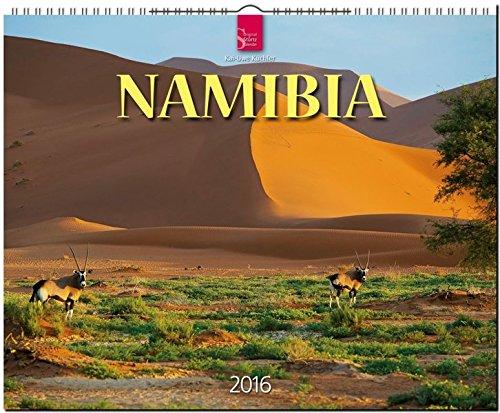 Namibia 2016: Original Stürtz-Kalender - Großformat-Kalender 60 x 48 cm [Spiralbindung]