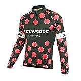 UGLY FROG Hombre Cycling Jersey Maillot Ciclismo Manga Larga Camiseta de Ciclistas Triatlón Ropa Ciclismo