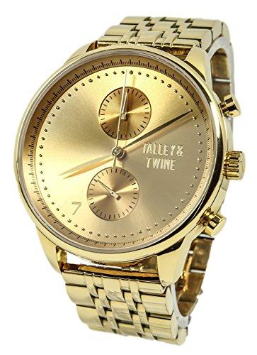 Talley & Twine Worley Chronograph Watch, Gold
