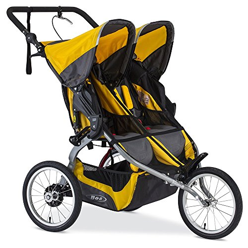 BOB Ironman Duallie Jogging Stroller, Yellow